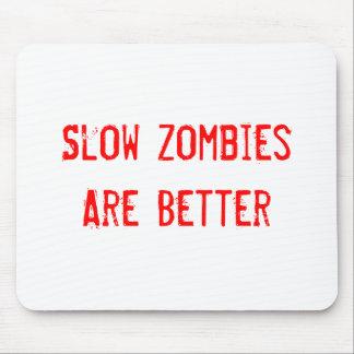 Zombis lentos mouse pad