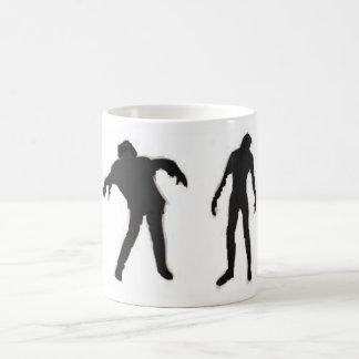 Zombis oscuros taza clásica