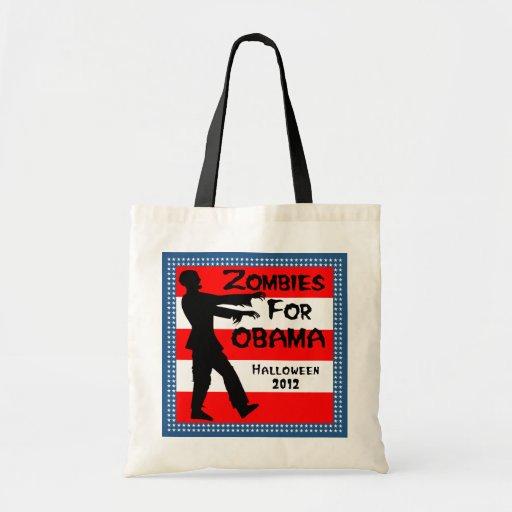 Zombis para el bolso de Halloween de la diversión  Bolsa De Mano