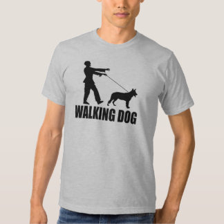 (Zombis) perro que camina Remeras