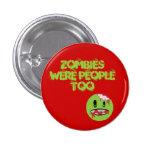 Zombis Pin Redondo 2,5 Cm