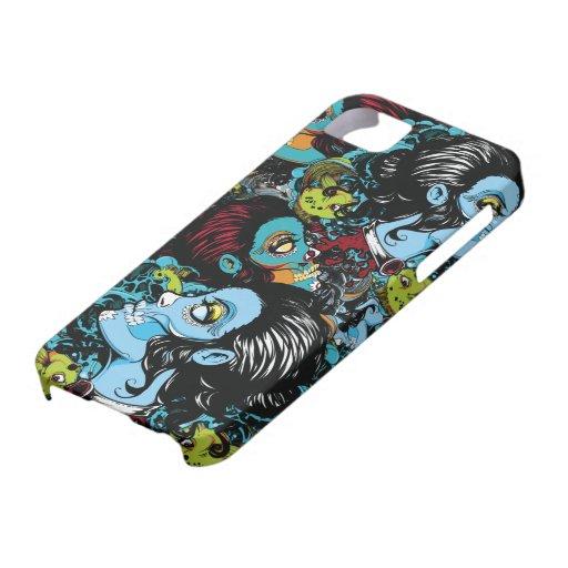 Zombis por todas partes iPhone 5 Case-Mate protector
