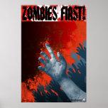 ¡Zombis primero! Colosal Posters