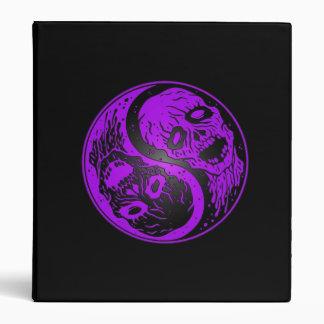Zombis púrpuras y negros de Yin Yang