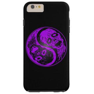 Zombis púrpuras y negros de Yin Yang Funda De iPhone 6 Plus Tough