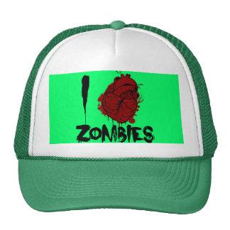 zombis sangrientos del corazón i gorras de camionero