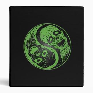 Zombis verdes y negros de Yin Yang