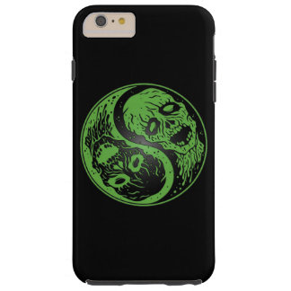 Zombis verdes y negros de Yin Yang Funda De iPhone 6 Plus Tough