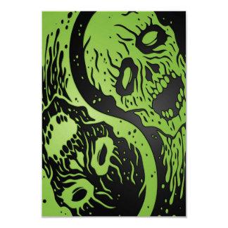 Zombis verdes y negros de Yin Yang Comunicado