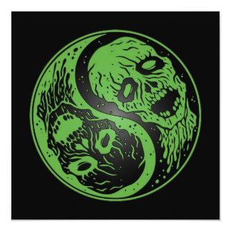 Zombis verdes y negros de Yin Yang Comunicados