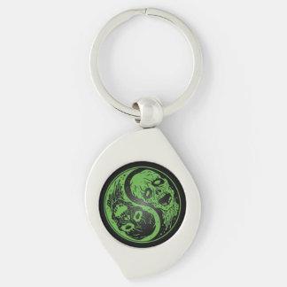 Zombis verdes y negros de Yin Yang Llaveros