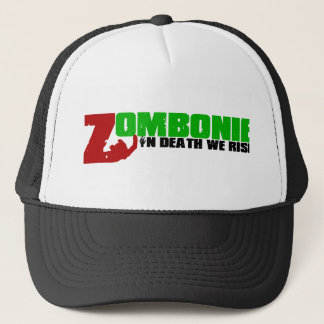 Zombonie Scalp Trucker Hat