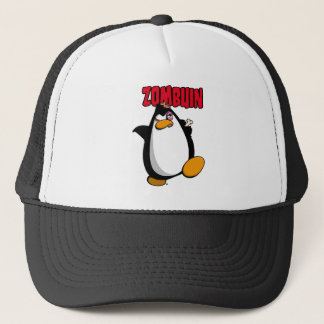 Zombuin - The Zombie Penguin Trucker Hat
