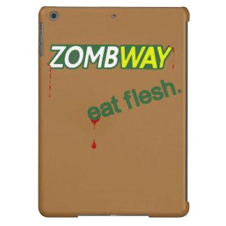 Zombway Eat Flesh Zombie Parody iPad Air Case