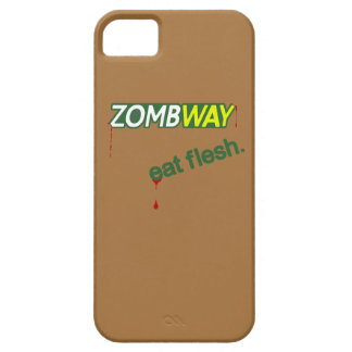Zombway Eat Flesh Zombie Parody iPhone 5/5S Case