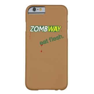 Zombway Eat Flesh Zombie Parody iPhone 6 Case