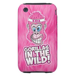 ZOMG, gorilas en el salvaje Carcasa Resistente Para iPhone