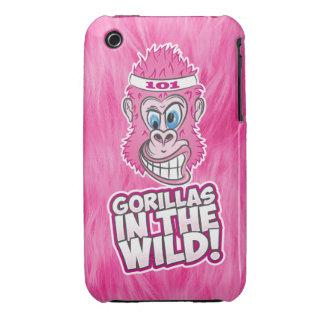 ZOMG, gorilas en el salvaje Funda Para iPhone 3 De Case-Mate