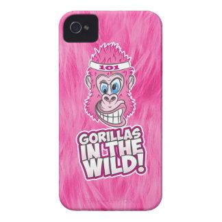 ZOMG, gorilas en el salvaje Funda Para iPhone 4 De Case-Mate