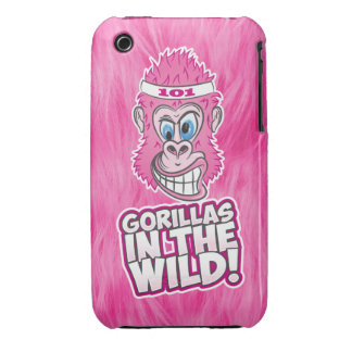 ZOMG Gorillas in the Wild iPhone 3 Cover