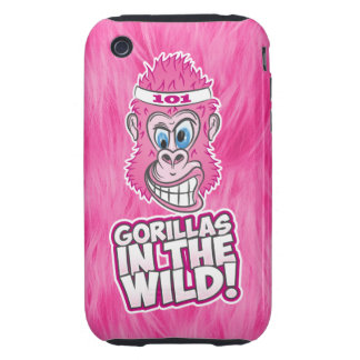 ZOMG Gorillas in the Wild iPhone 3 Tough Cases