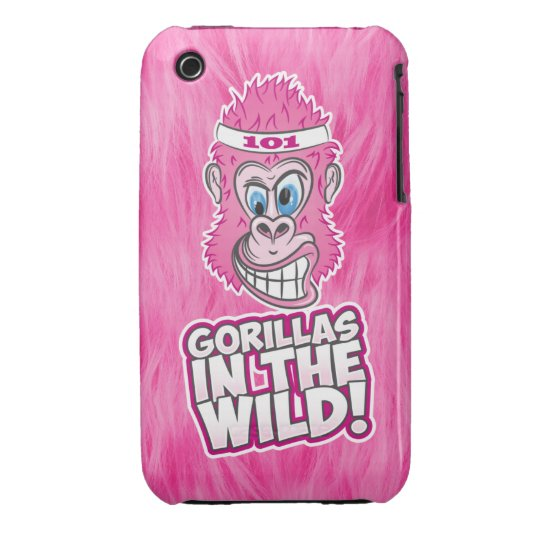 ZOMG, Gorillas in the Wild iPhone 3 Cover