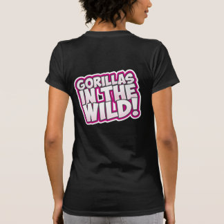 ZOMG, Gorillas in the Wild Tee Shirt