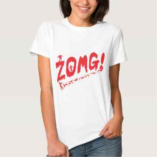 ZOMG Walking Zombie Tee Shirt