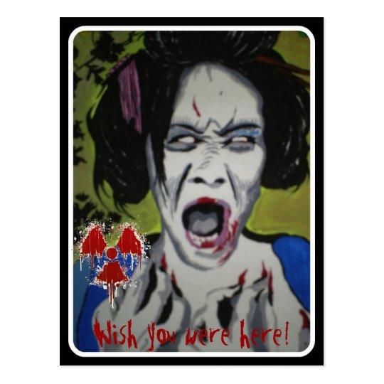 'ZomGeisha' Postcard