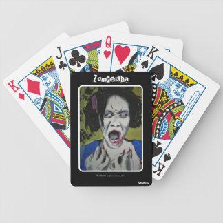 'ZomGeisha' (Zombie) Playing Cards