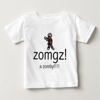 zomgz! a zomby!!1! infant t-shirt