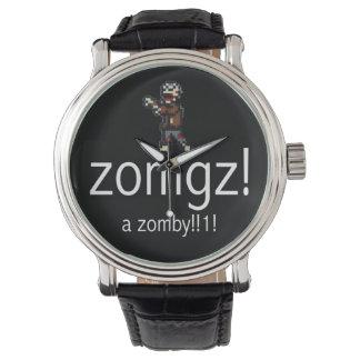 zomgz! a zomby!!1! White Wristwatch