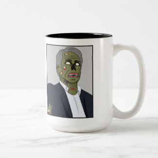 Zomney for President Two-Tone Coffee Mug