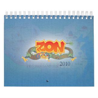 Zon 2010 Calendar