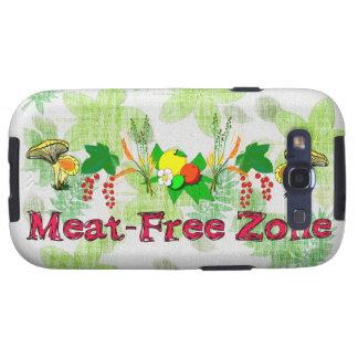 Zona Carne-Libre Galaxy S3 Funda