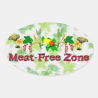 Zona Carne-Libre Colcomanias Ovaladas Personalizadas