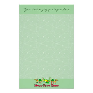 Zona Carne-Libre Personalized Stationery