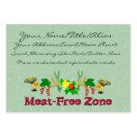 Zona Carne-Libre Plantillas De Tarjetas De Visita