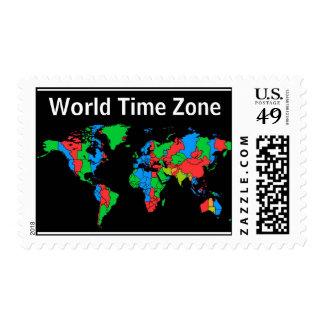 zona de hora mundial del sello
