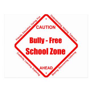 Zona de la escuela libre del Bully- Tarjetas Postales