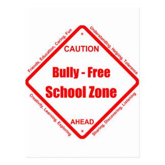Zona de la escuela libre del Bully- Postales