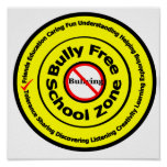 Zona de la escuela libre del matón poster