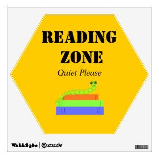 Zona de la lectura - ratón de biblioteca vinilo