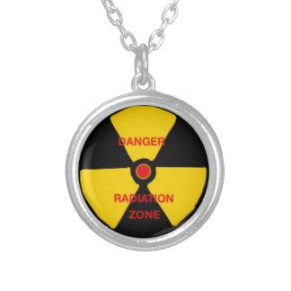 Zona de la radiación collar personalizado