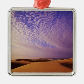 Zona de recreo nacional de las dunas de Oregon, Adorno Navideño Cuadrado De Metal