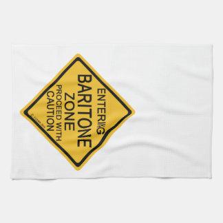 Zona del barítono que entra toallas de mano