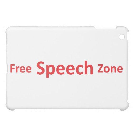 Zona del discurso libre, apenas palabras