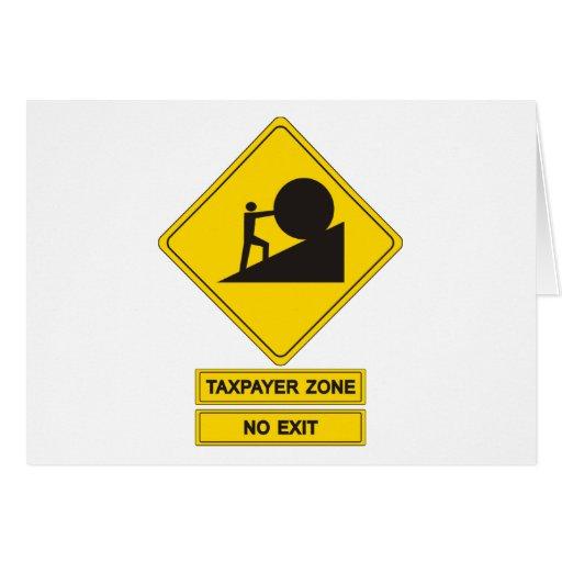 Zona del impuesto tarjetón