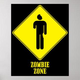 Zona del zombi poster