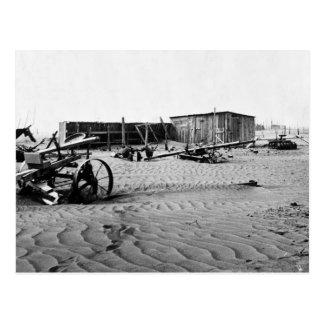 Zona desértica 1935. postal